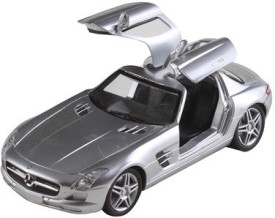 New Ray 1:24 Mercedes Benz SLS AMG 2010(Silver)