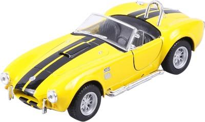 BRECKEN PAUL Baby Steps | Kinsmart 1965 Shelby Cobra 427 S/C Yellow