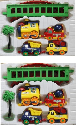 New Pinch Combo Of Play Train Set For Kids