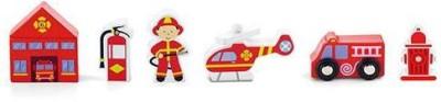 Viga Train set accessory - Fire Services