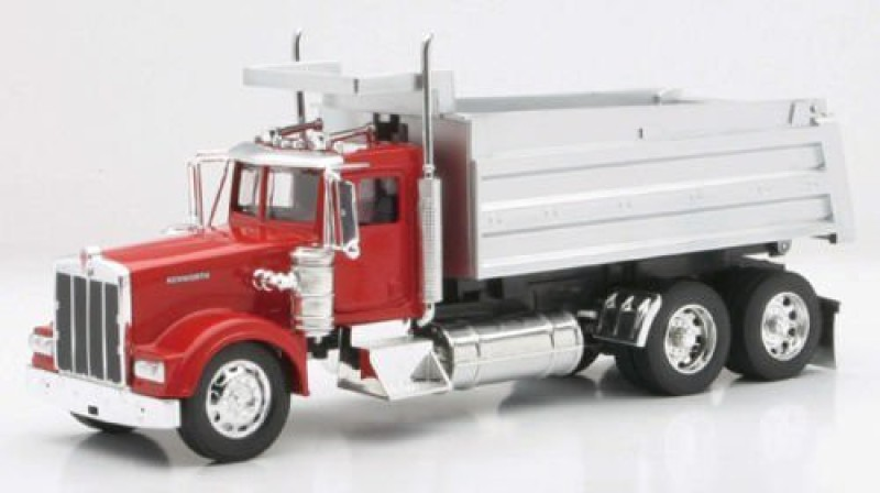 Caterpillar Die-Cast Truck Replica - Kenworth Dump Truck, 1:32 Scale,(Red)