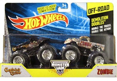 Hot Wheels 2014 Offroad Monster Jam Demolition Doubles Captain,S