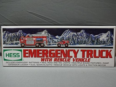 Hess 2005 Emergency Truck With Rescue