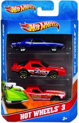 Hot Wheels Mattel K5904 Hot Wheels (3 pack) (Colors and Designs May Vary)