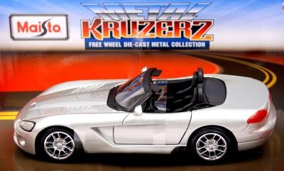 Maisto Kruzerz 1-24 2003 Dodge Viper Srt-10