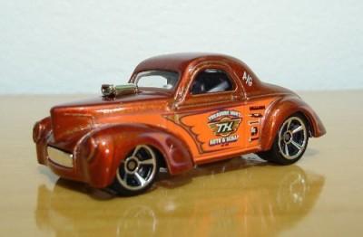Hot Wheels 2012 ,41 Willys Treasure Hunt 1/15