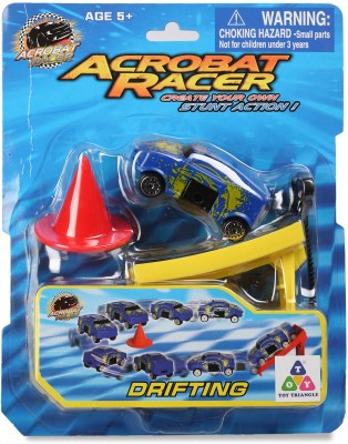 Toy Triangle Acrobat Racer Drifting Car
