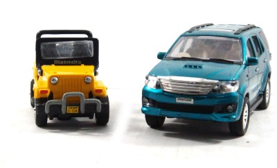 Toyzstation New Generation Miniature SUV(Yellow, Blue)