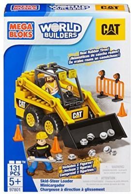 Mega Bloks Caterpillar Skidsteer Loader