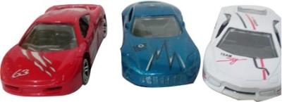 Khareedi Diecast Metal Super Model 3 Cars Set