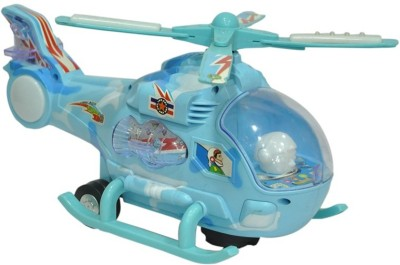 Zest4toyZ Lightning Helicopter Blue -2268