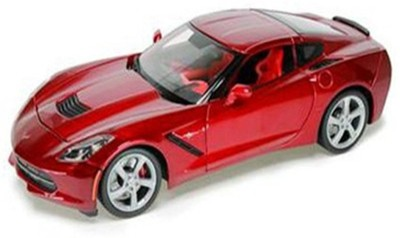 Maisto Power Kruzerz 4.5 inch Pull Back Action - 2014 Corvette Stingray