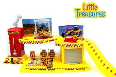 Little Treasures Engineering Play Set Station