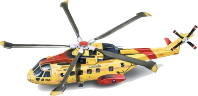 New-Ray 1:72 Scale Agusta-Westland AW101 Canadian Search & Rescue helicopter