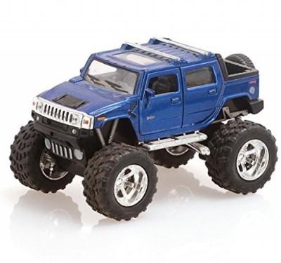 Kinsmart Monster Hummer H2 SUT Blue