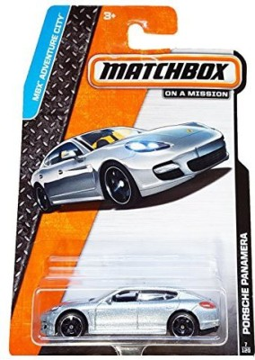 Mattel 2014 Matchbox Mbx Adventure City Porsche Panamera