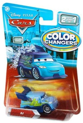Disney Pixar Car Movie 1:55 Color Changers DJ T5641