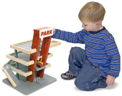 Melissa & Doug Deluxe Parking Garage