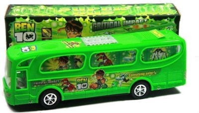 Turban Toys Ben10 Bus with lights and sound