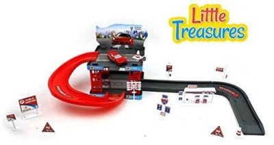 Little Treasures The Parking Toy (37 Pieces)