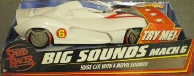 Hot Wheels Speed Racer Big Sounds Mach 6