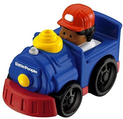 Fisher-Price Little People Wheelies Steam Engine Train With Michael