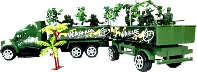 WebKreature Military Truck with Troop Carrier