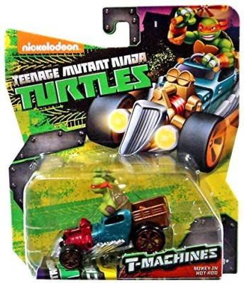 Playmates Teenage Mutant Ninja Turtles Nickelodeon Tmachines Mikey(Multicolor)