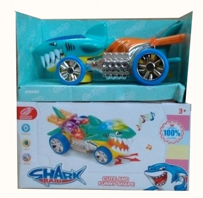 Shop & Shoppee Shark shaped Car with light and music