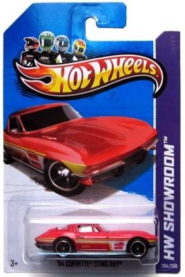 Hot Wheels 64 Corvette Sting Ray (HW Showroom - 2013)