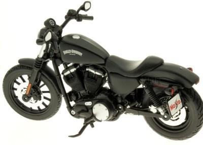 Maisto Harley Davidson 2014 Sportster Iron 883 1:18 Die-cast Toy Bike Model