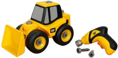 Toystate State Caterpillar Construction Takeapart Trucks Wheel Loader