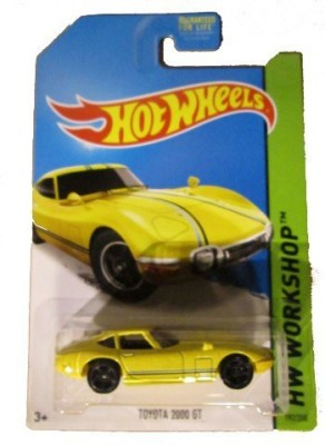 Hot Wheels 2014 Hw Workshop All Stars Yellow Ota 2000 Gt 192/250