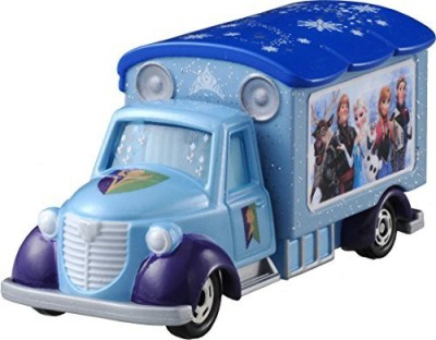 Tomy The Snow Queen And Tomica Disney Motors Goody Carry Ana