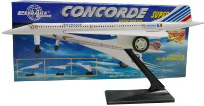 Speedage Concorde Airplane Pull Back