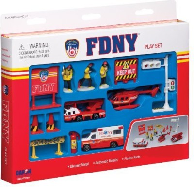 Daron Fdny Play Set13Piece