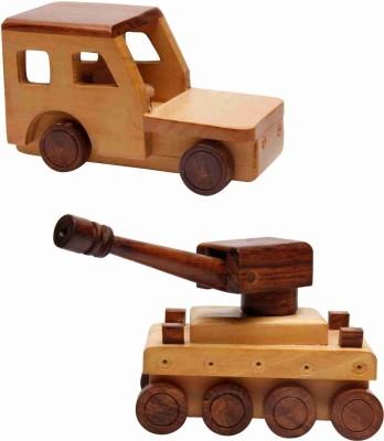 EcoJoy Badoom Tank & Road Racer Jeep