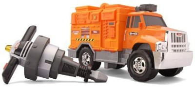 Tonka Tool Truck Utility Truck With Jack Hammer