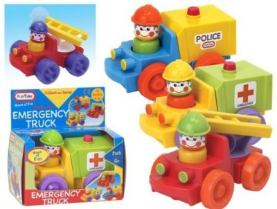 Funtime 924 Push & Go Emergency Truck (Truck May Vary)