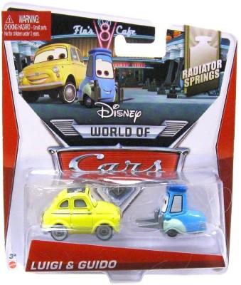 Disney World of Cars, Radiator Springs Die-Cast, Luigi & Guido