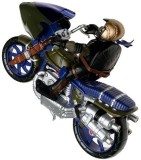 Playmates Toys Battle Bike Don (Multicol...