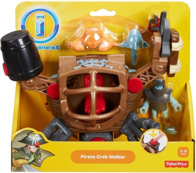 Fisher-Price Imaginext Pirate Crab Walker