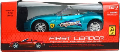 Teddy Berry Battery Operated First Leader Car(Blue)