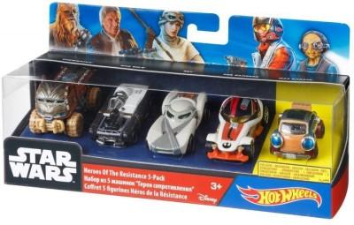 HotWheels Star Wars Heroes of The Resistance Multi Color