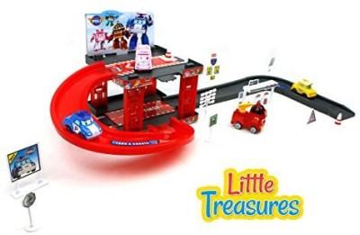 Little Treasures Reckless Transformer Car Robot Children,S Toy Play Set