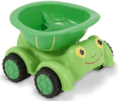 Melissa & Doug Tootle Turtle Dump Truck Toy