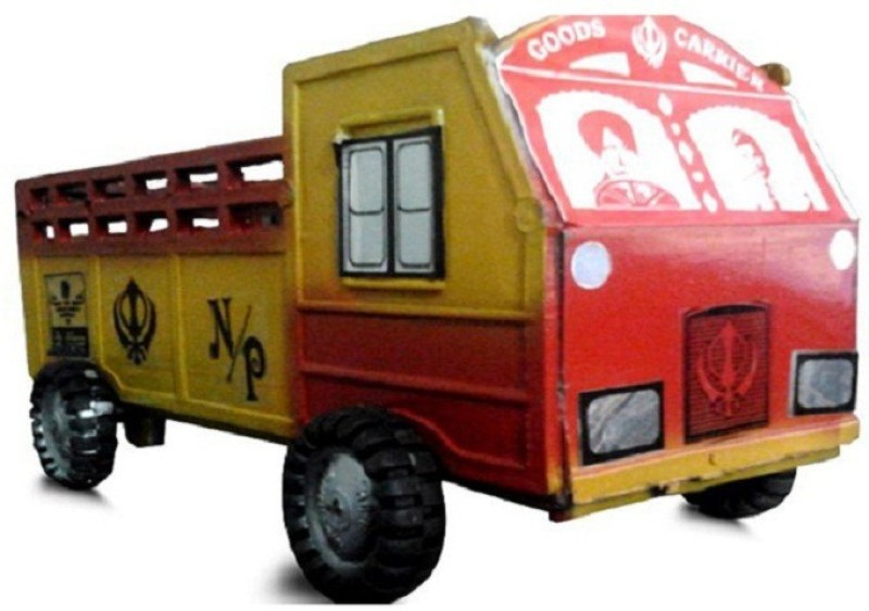 Azad Industries Truck(Red, Yellow)