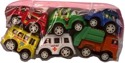 Adiestore Mini Series Mixed Car 6Pcs