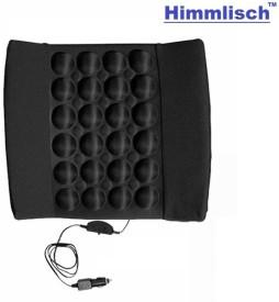 Himmlisch 21403 Black Seat Vibrating Massage Cushion Vehicle Seating Pad
