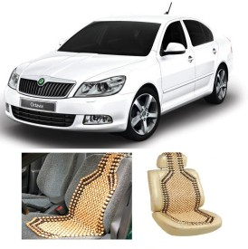 Creeper RCPPS1-SP61 Premium Quality Wooden Bead Seat Cover For Skoda Octavia Vehicle Seating Pad